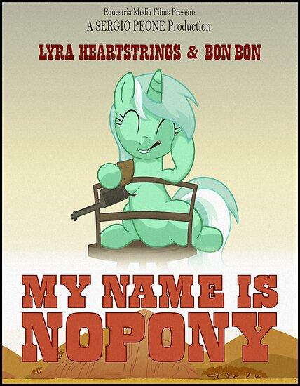 My Name Is Nopony by Stinkehund