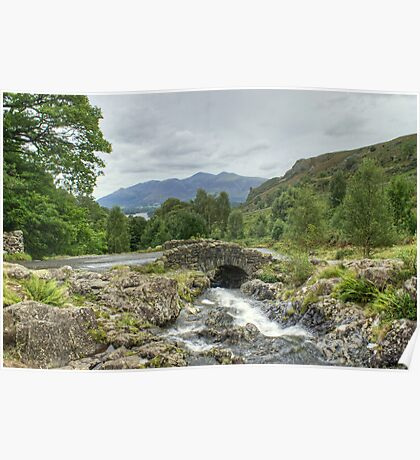 Ashness Bridge In August Poster