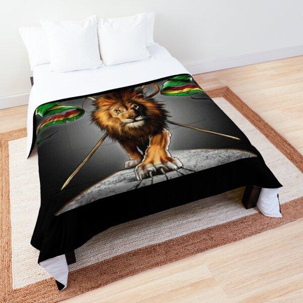 Rasta Lion King  Comforter