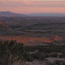 West Texas Plains at Sundown by seymourpics