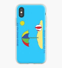 Simple Things - Beach Ball iPhone Case
