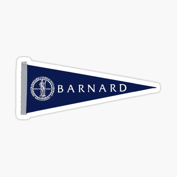 Barnard Pennant Sticker