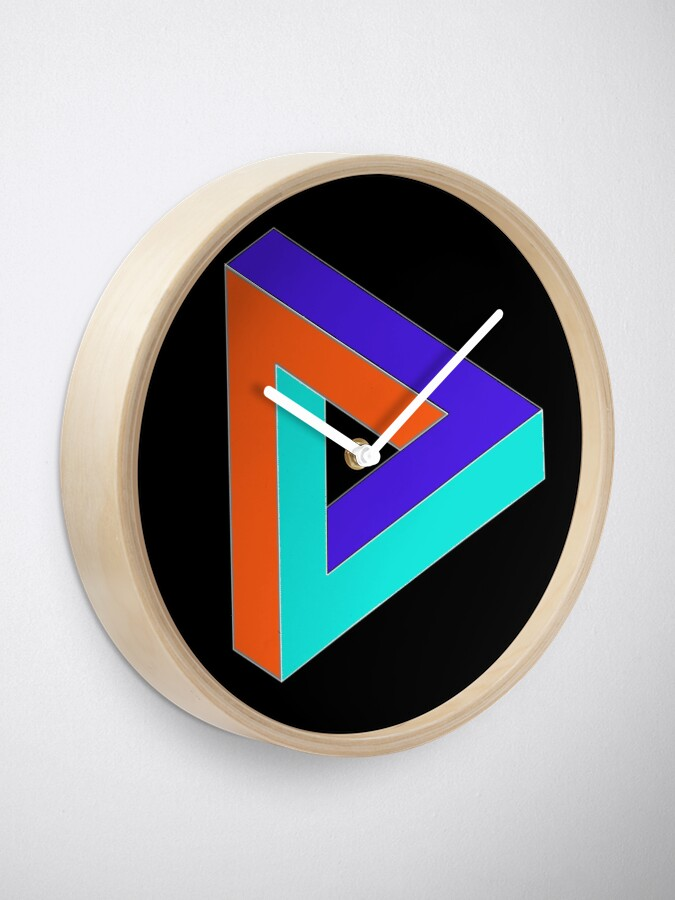 Alternate view of Sign, psychedelic art,art movement,psychedelic,movement,wallpaper, art Clock