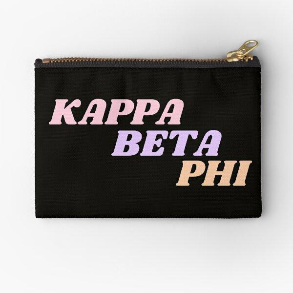 Kappa Beta Phi - Hope College Zipper Pouch