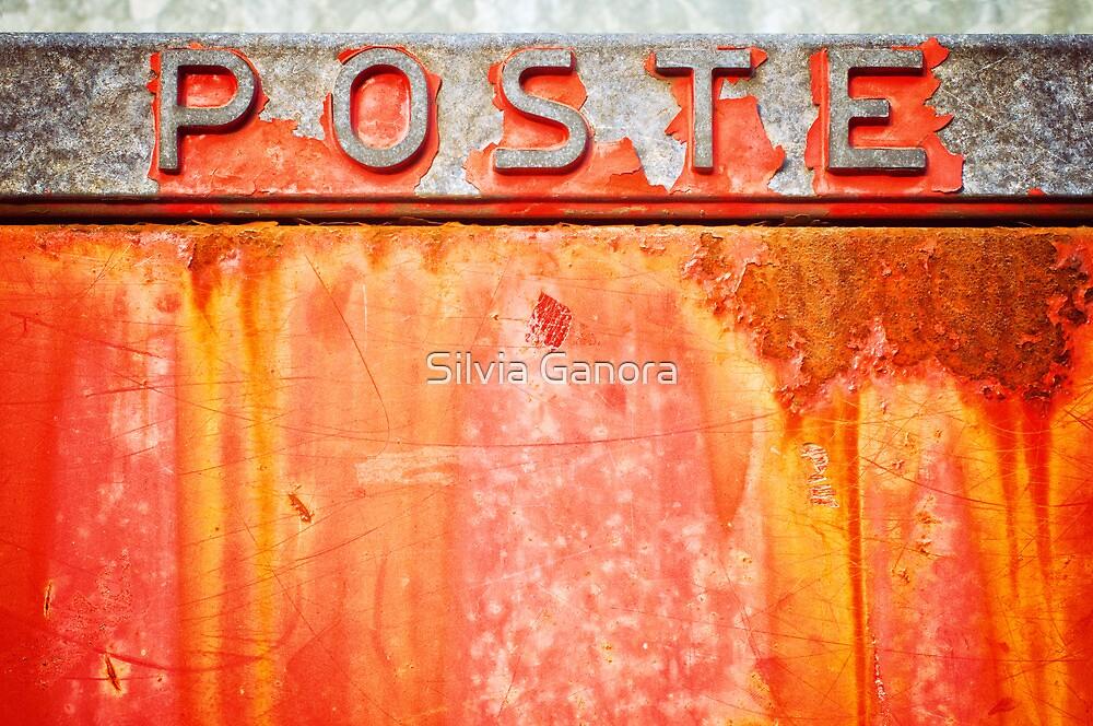 Poste- Italian weathered mailbox by Silvia Ganora