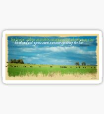 Finding Peace Within © Vicki Ferrari Photography Sticker