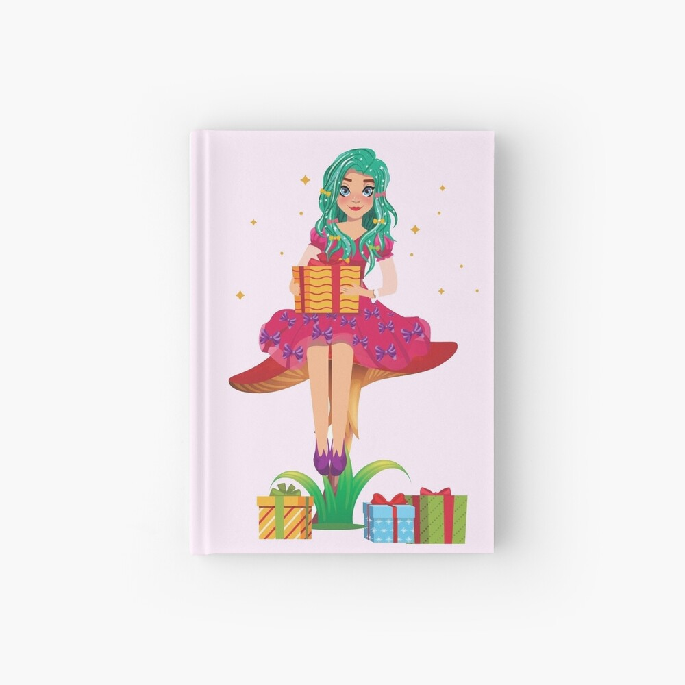 Ruby the Ribbon Fairy With Her Gifts™ Hardcover Journal