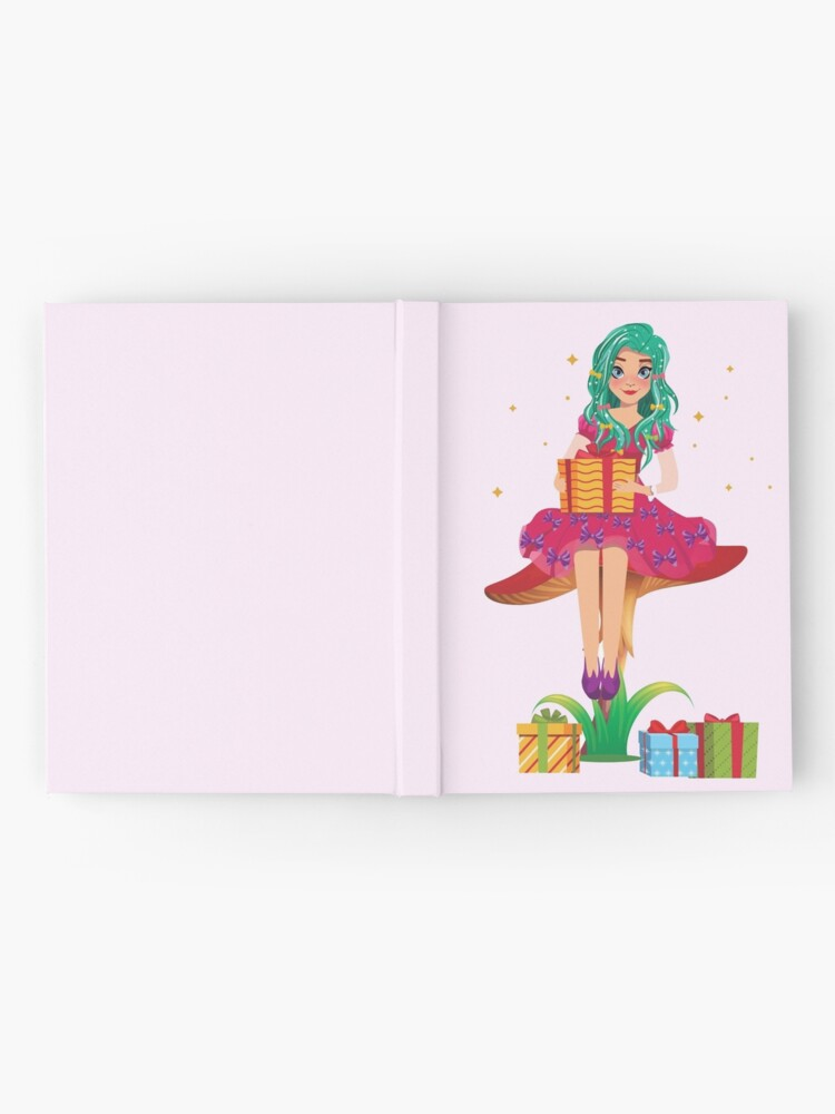 Alternate view of Ruby the Ribbon Fairy With Her Gifts™ Hardcover Journal