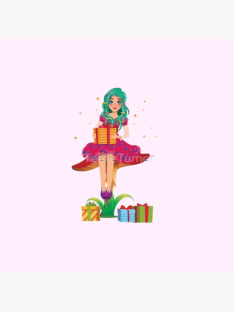 Ruby the Ribbon Fairy With Her Gifts™ by TeelieTurner