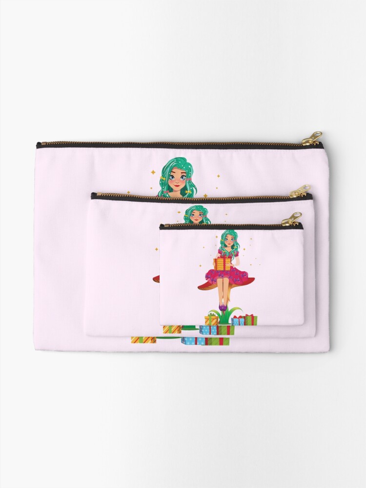 Alternate view of Ruby the Ribbon Fairy With Her Gifts™ Zipper Pouch