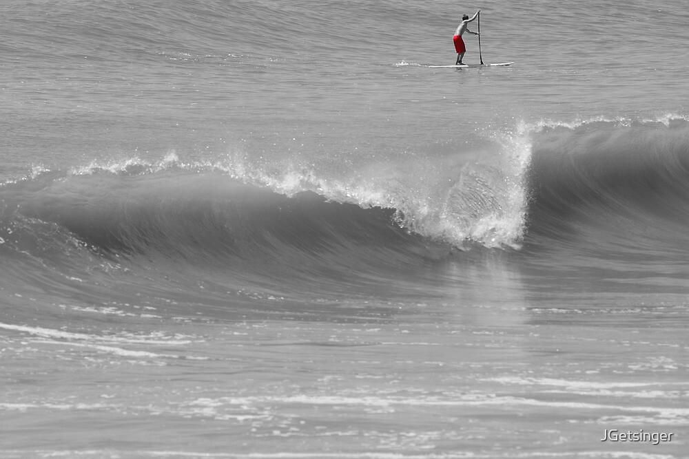 Wave and Paddler by JGetsinger