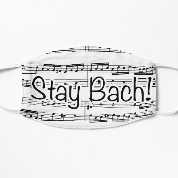 Restez Bach Masque sans plis