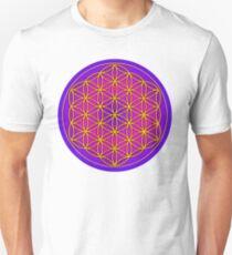 Flower of Life Sacred Geometry Unisex T-Shirt