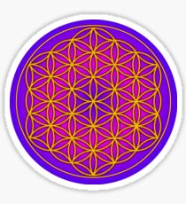 Flower of Life Sacred Geometry Sticker