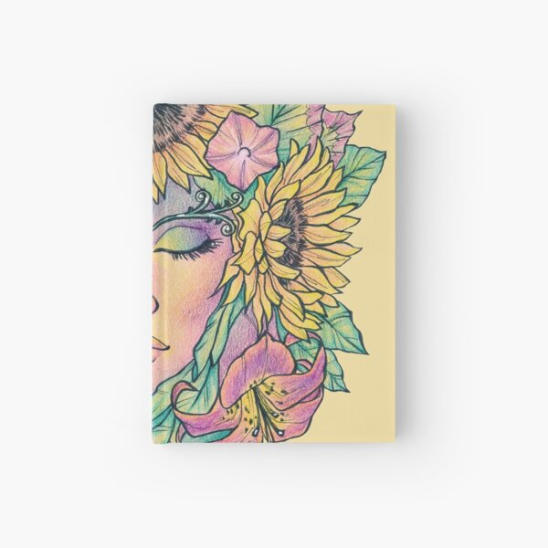 Summer Greenwoman Hardcover Journal