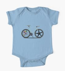 Fixie Bike One Piece - Short Sleeve