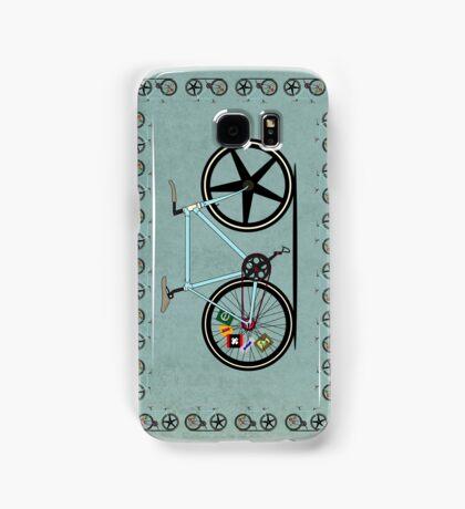 Fixie Bike Samsung Galaxy Case/Skin