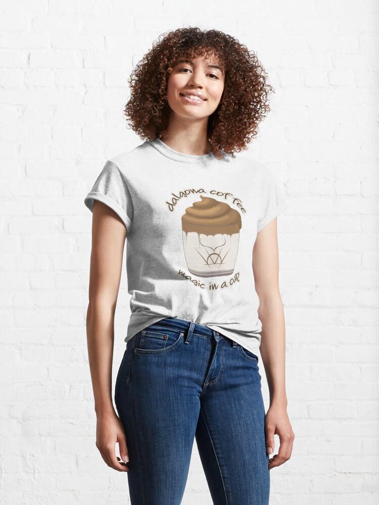 Alternate view of Dalgona Coffee - Magic in a Cup!  Classic T-Shirt