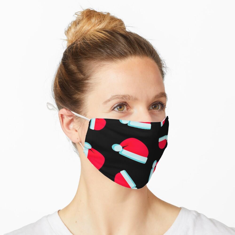Masque «Modèle de bonnet de Noel»