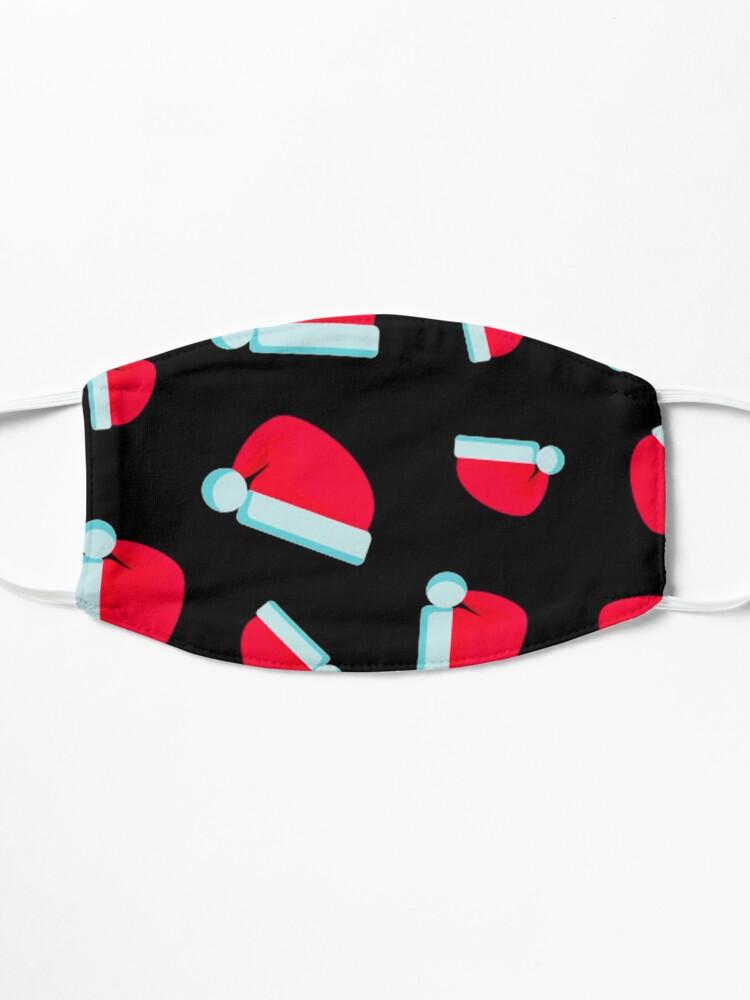 Masque ''Modèle de bonnet de Noel': autre vue