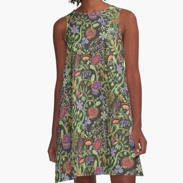 magic garden A-Line Dress
