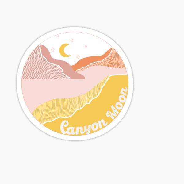 Harry Styles Canyon Moon Sticker Sticker