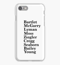 West Wing iPhone Case/Skin