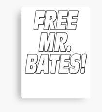Free Mr. Bates Downton Abbey Canvas Print