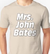 Mrs. John Bates Downton Abbey Unisex T-Shirt