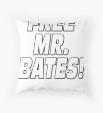 Mrs. John Bates Downton Abbey Throw Pillow