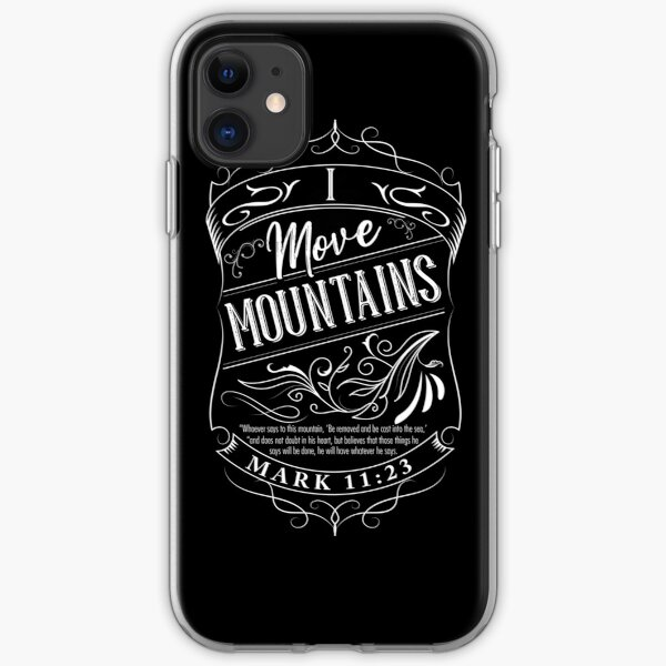 I Move Mountains iPhone Soft Case