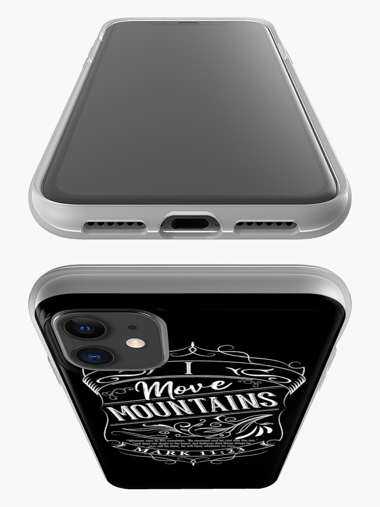 Alternate view of I Move Mountains iPhone Case & Cover