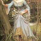 Ophelia  3 by Irene  Burdell