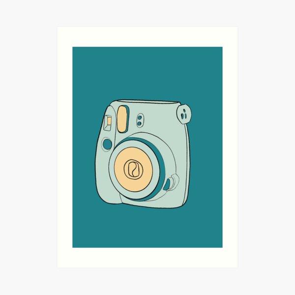 New-School Polaroid Art Print