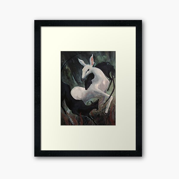 Dance in the Forest - Oisin's Mother   Framed Art Print
