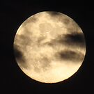 clouded full moon... by kangarookid