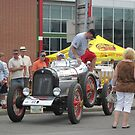 1917 Hudson in Buffalo during the 2012 Great Race by Ray Vaughan