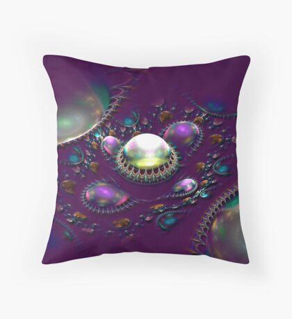 Gem Eruption Throw Pillow