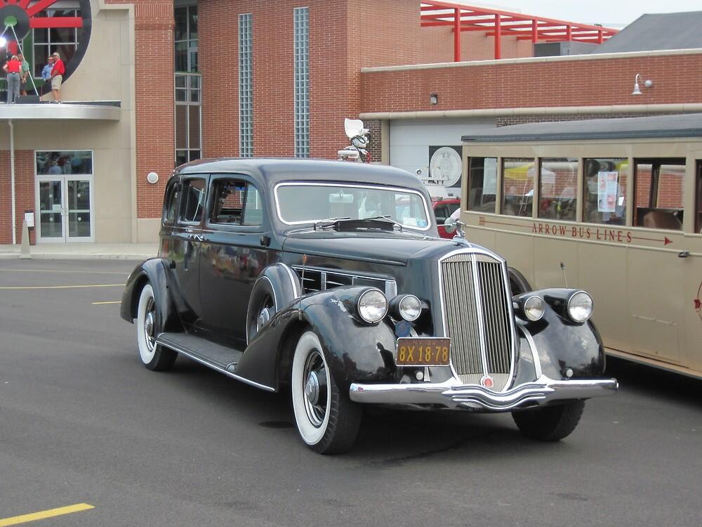 1936 Pierce-Arrow sedan by Ray Vaughan