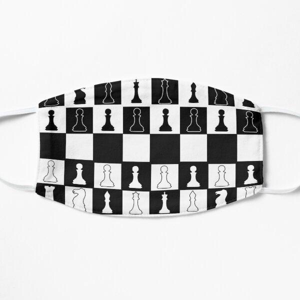 Chess Mask Flat Mask
