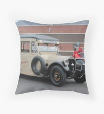 1919 Pierce-Arrow bus Throw Pillow