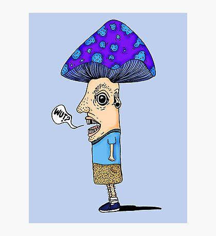 Mushroom boy Photographic Print