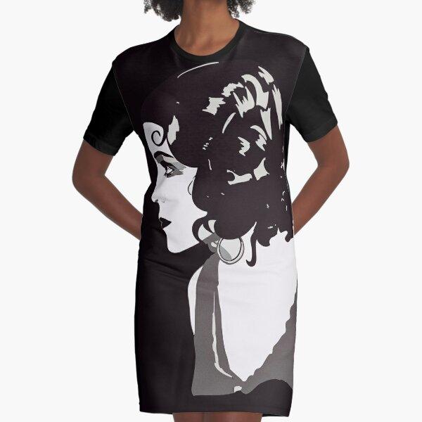 Woman Graphic T-Shirt Dress