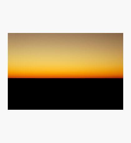 Flatline Horizon Photographic Print