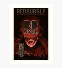 Redbubble invades NYCC Art Print