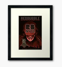Redbubble invades NYCC Framed Print