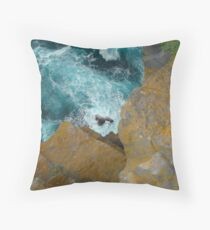 Over the Cliffs of Inis Mor Throw Pillow