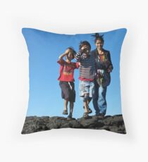 Lennox Head Throw Pillow