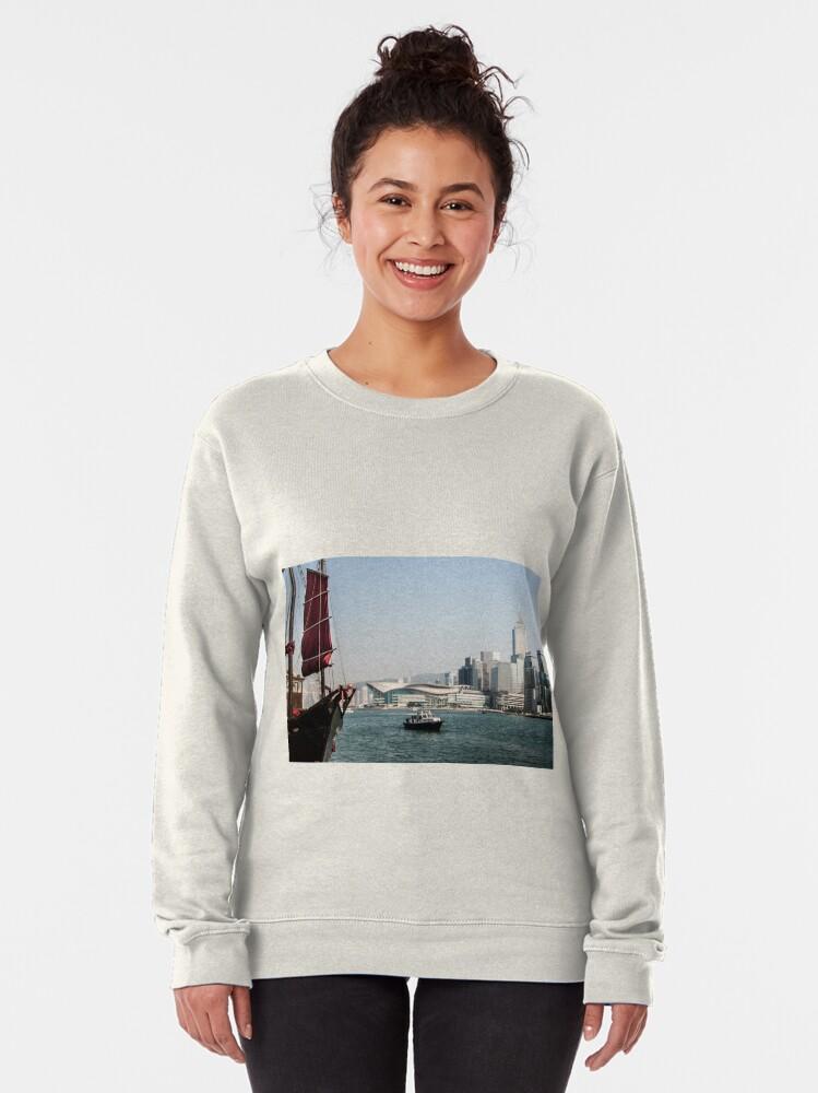 Alternate view of Hong Kong Pullover Sweatshirt