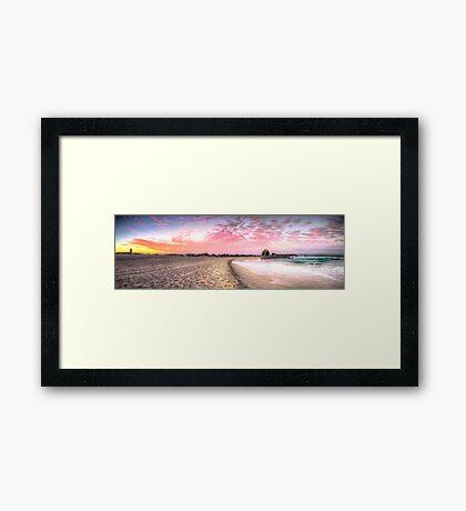 Currumbin Alley Sunset Framed Print